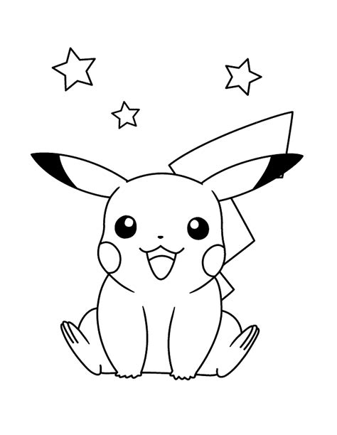pikachu coloring pages game coloriage pokemon dessins de pikachu sacha bulbizarre
