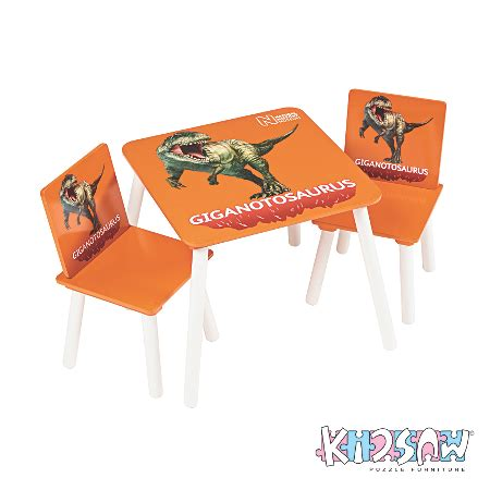 dinosaur table and chair set kidsaw history museum dinosaur table and chair set