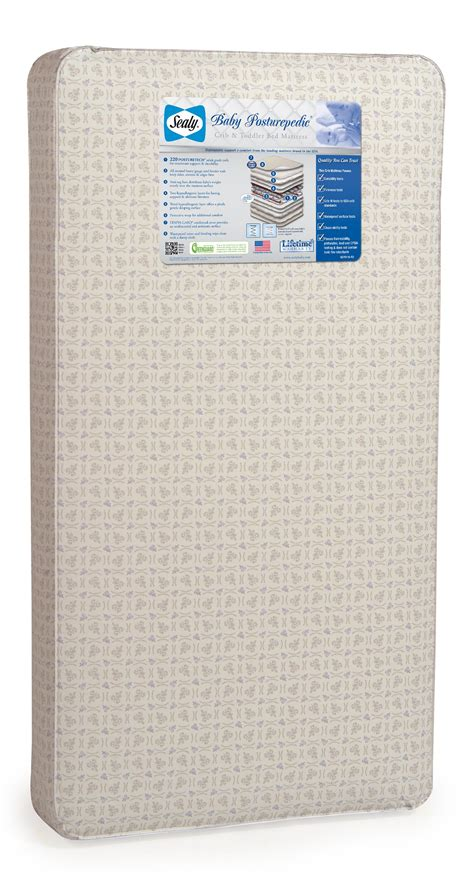Sealy Posturepedic Baby Crib Mattress Sealy Sealy Baby Posturepedic Crib Mattress By Oj Commerce Em601 Mff1 114 99