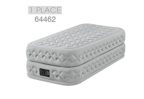 letto gonfiabile elettrico materasso gonfiabile elettrico a 1 piazza intex supreme