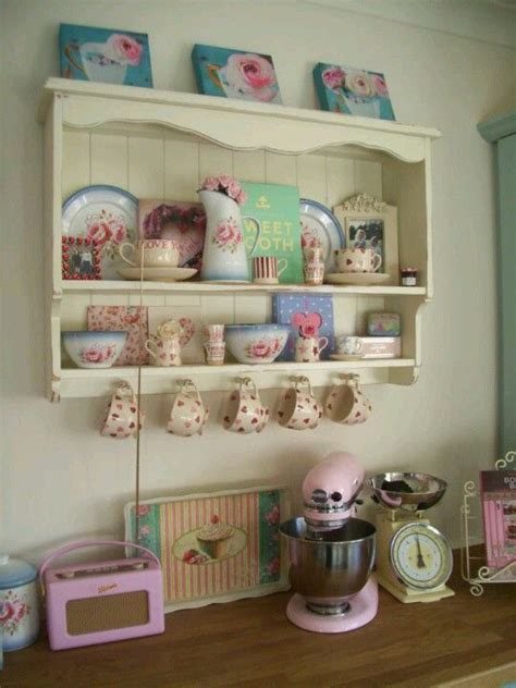 collections of country style crockery and kitchen