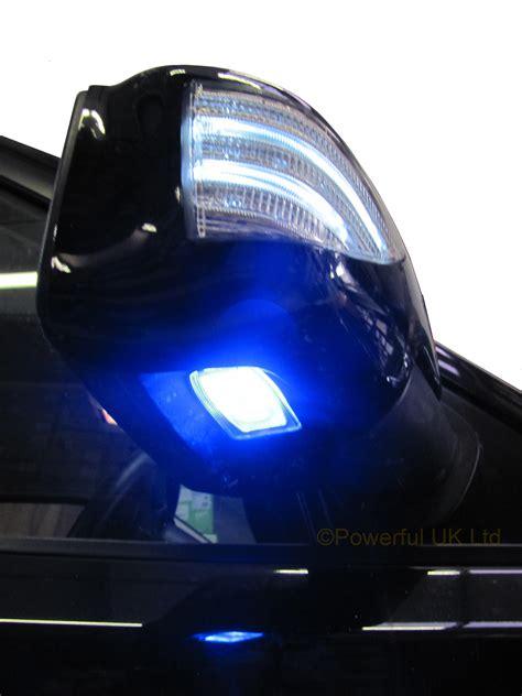 range rover light range rover sport door wing mirror puddle light l blue
