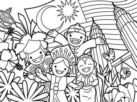 poster pertandingan mewarna kemerdekaan 2013 gambar lukisan untuk mewarna related keywords