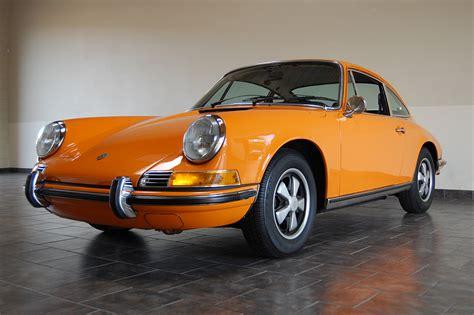 porsche signal 1971 porsche 911t sportomatic for sale signal orange