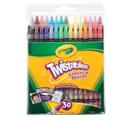 crayola twistables colored pencils twistables colored pencils 30 count crayola