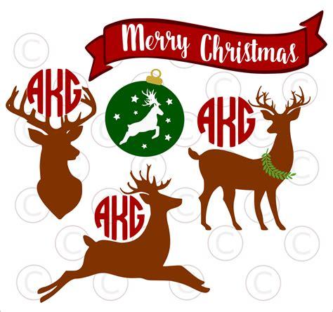 festive christmas monogram svgs abbi kirsten collections