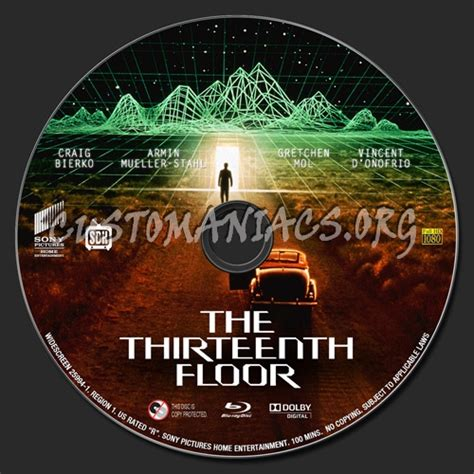 the thirteenth floor join me in the thirteenth floor label dvd covers labels
