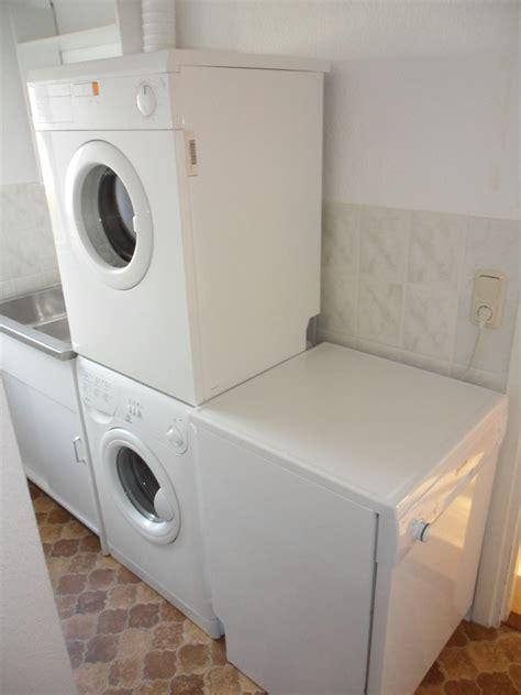 Waschmaschine Und Trockner In Der Küche by Ferienwohnung Im Haus Quot Svea Quot Der Seehof