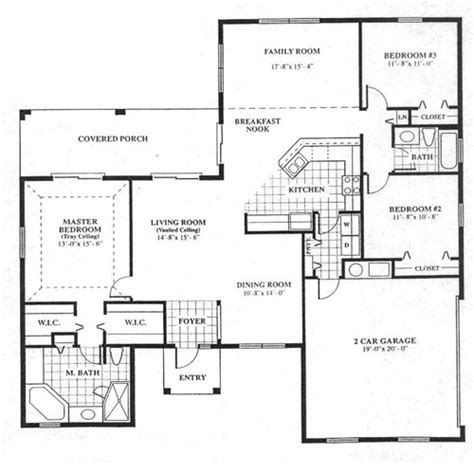 cedar home floor plans custom floor plan by woodland enterprises in jupiter