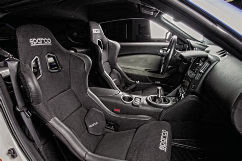 best racing seats for 350z pasmag feature arsenal nissan 370z seibon carbon