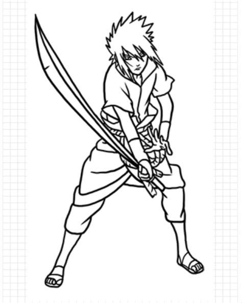 tutorial gambar sasuke cara menggambar anime sasuke part 1 goyang pensil