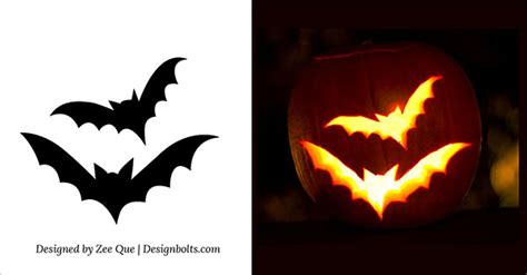 printable pumpkin stencils free scary printable halloween pumpkin decorations