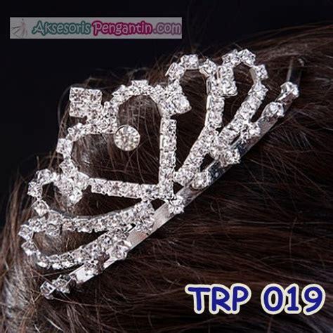Mahkota Mutiara Bunga Silver Bahan Aksesoris jual aksesoris mahkota pengantin l mahkota rambut