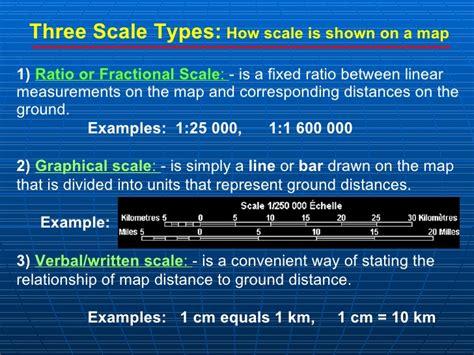 map scale definition topographic maps presentation mine
