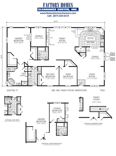 trailer home plans triple wide floor plans three section home plans triple