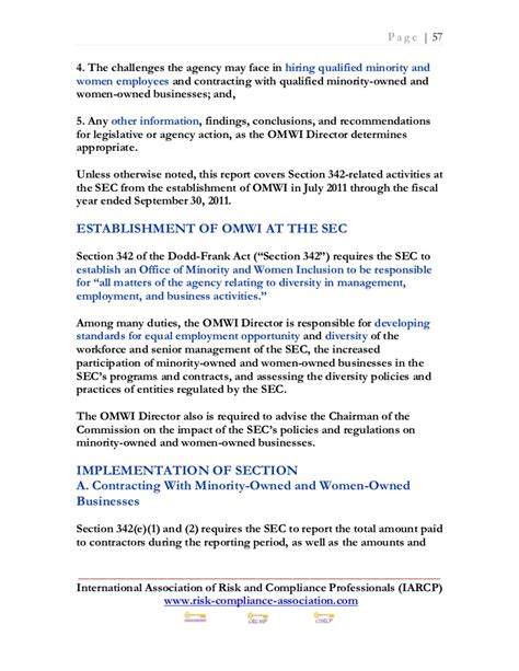 section 342 of the dodd frank act monday april 23 2012 top 10 risk and compliance