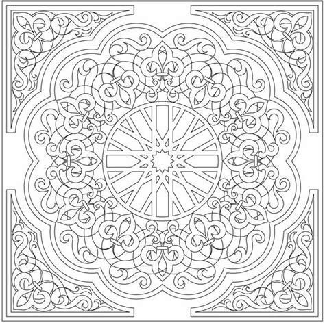 mandala coloring book dover arabic floral patterns coloring book by dover coloring