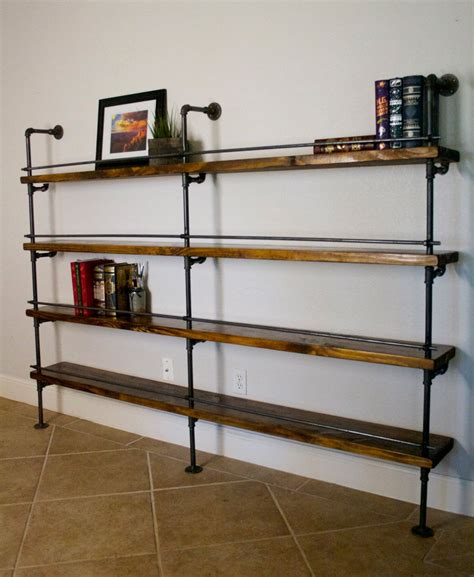 Ladder Desk And Bookcase How To Select And Decorate With An Industrial Bookcase