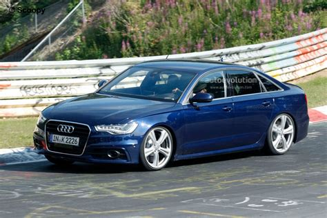 audi s6 v8 spyshots 2012 audi s6 spotted on the ring could come
