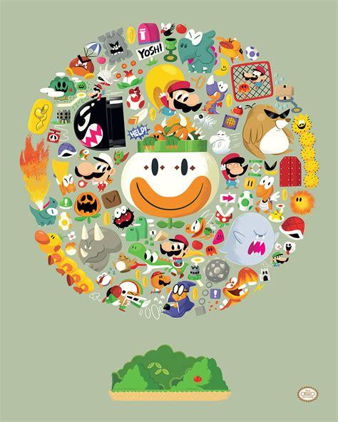 Kaos Mario Bross Mario Artworks 04 a tribute to mario bros in