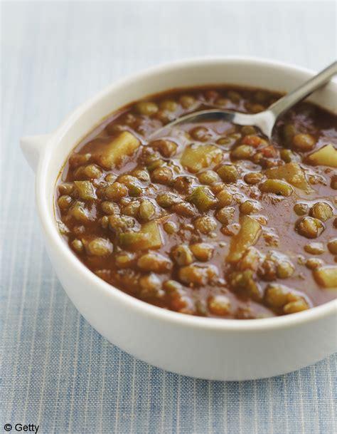cuisine lentilles soupe de lentilles 224 la coriandre et au citron pour 4