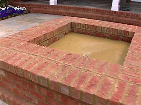 Diy Brick Firepit Building A Backyard Pit How Tos Diy