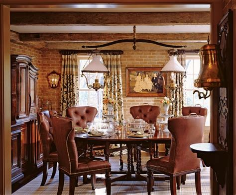 Ralph Lauren Dining Room by The Enchanted Home
