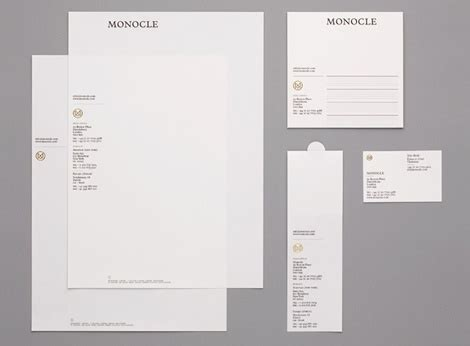 Monocle Business Card