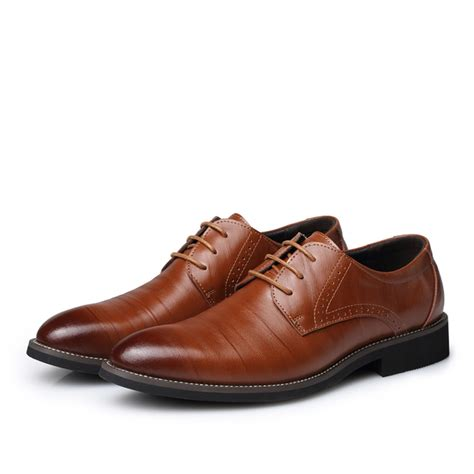 business casual oxford shoes new fashion dress shoes genuine leather shoes