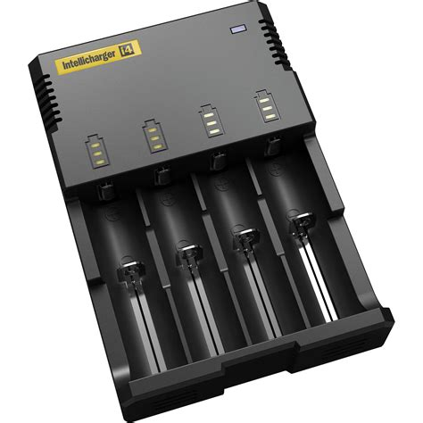 i4 charger review nitecore i4 intellicharger battery charger i4 b h photo