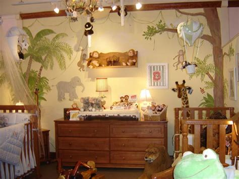 Jungle Themed Nursery Decor Children S Murals And Room Designschildren S Murals And Room Designs Children S Wall Murals