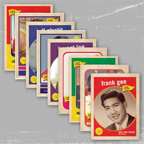 Gift Card Trading - trading cards the legends of 9 man educational trading card set limited edition 183 9