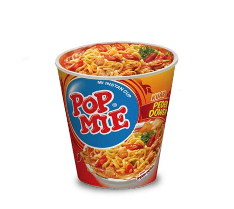 Mie Dower product pop mie