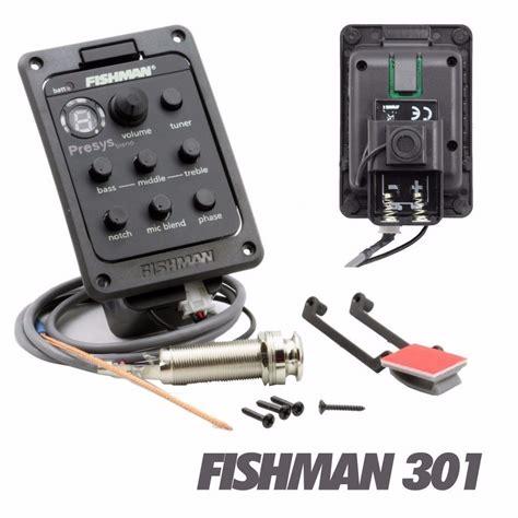 captador fishman presys blend viol 227 o c microfone completo