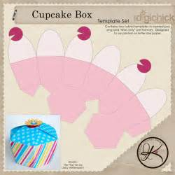 Cupcake Box Template by A Sweet Cupcake And A Challenge Kelleigh
