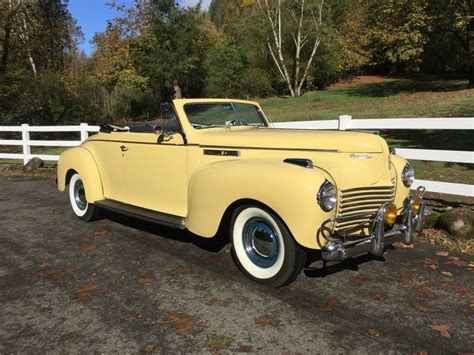 for sale 1940 chrysler new yorker convertible for sale