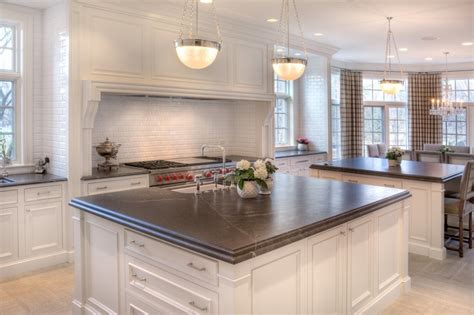 grey granite countertops with white cabinets kitchens with gray granite countertops