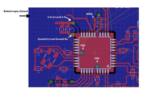 pcb layout guidelines circuit crystal pcb layout electrical engineering stack exchange