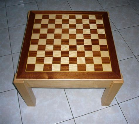 table echiquier table basse plateau damier 233 chiquier