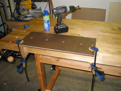 work bench dog holes build this woodworker s workbench to learn mortise tenon