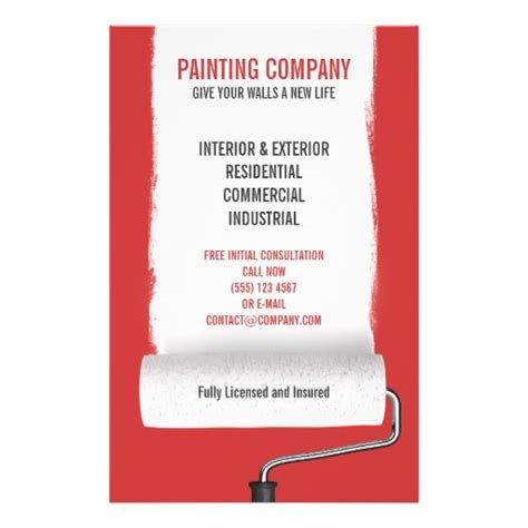 painting flyers templates free pin house painter flyer on