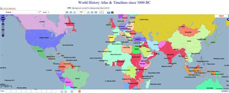 map interactive interactive map 5015 years of world history 3000