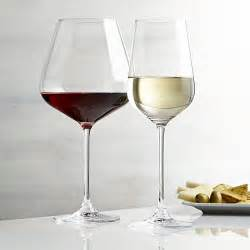 Fine Table Linens Hip Wine Glasses Crate And Barrel