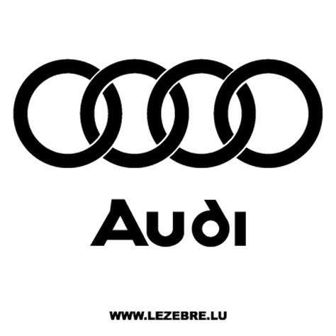 Cars Logo Sticker by Audi Logo Decal 2