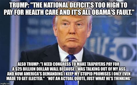 Care Meme - evil trump imgflip