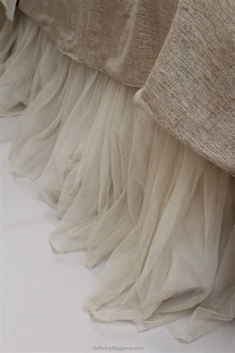 ivory bed skirt couture dreams textiles whisper bed skirt