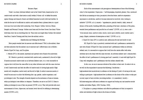 how to write a business paper research paper writing tips