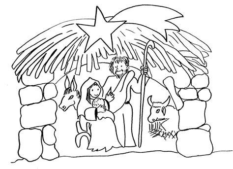 imagenes para dibujar nacimiento m 225 s de 10 dibujos de navidad para colorear