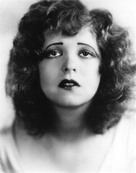 silent movie 1900 star clara bow