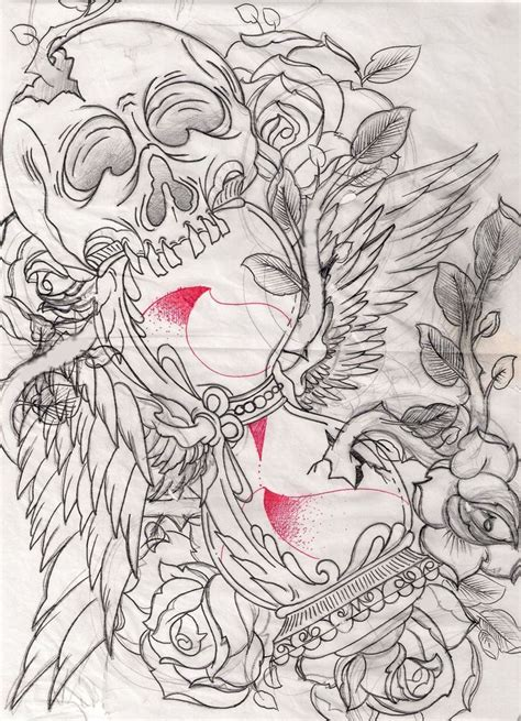 tattoo flash art free download 100 best images about on pinterest hourglass tattoo
